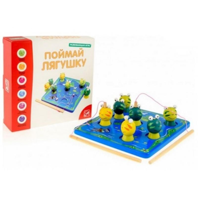 Нескучные Игры Настольная игра Поймай лягушку
