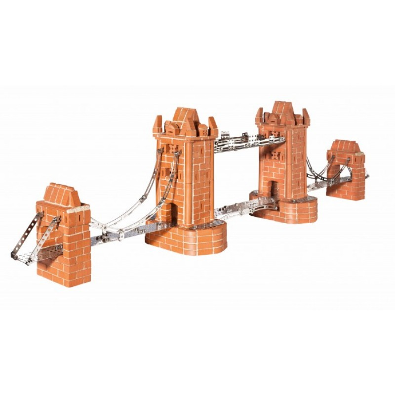 Teifoc Строительный набор Башенный мост 1000 деталей