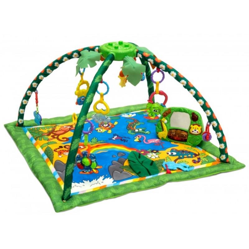Развивающий коврик FunKids Delux Step Up Gym Jungle CC9992 78х82 см