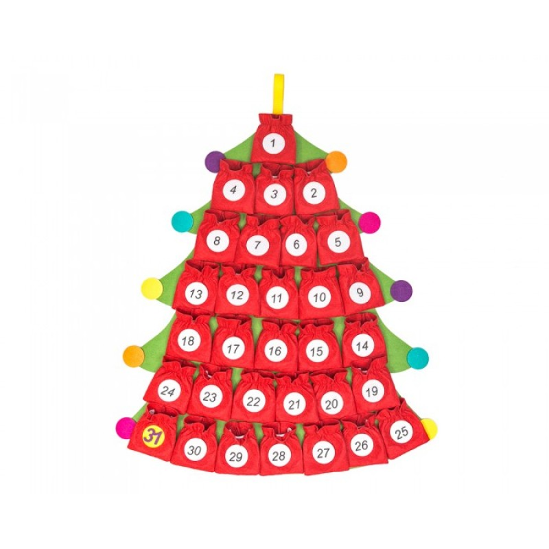 Развивающая игрушка Смайл Декор Адвент-календарь Ф283