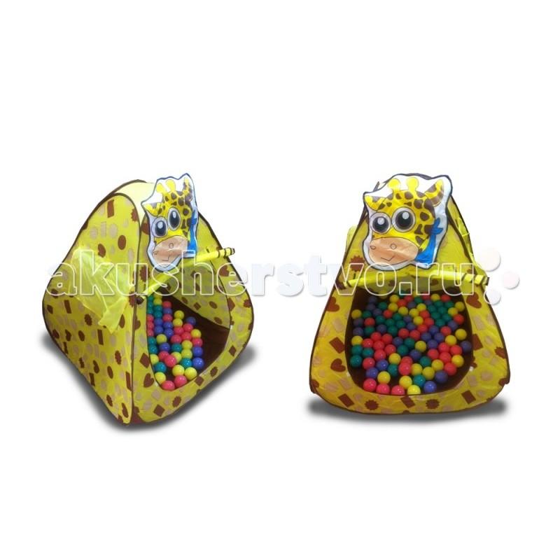 BabyOne Ching-Ching Дом + 100 шаров Жираф
