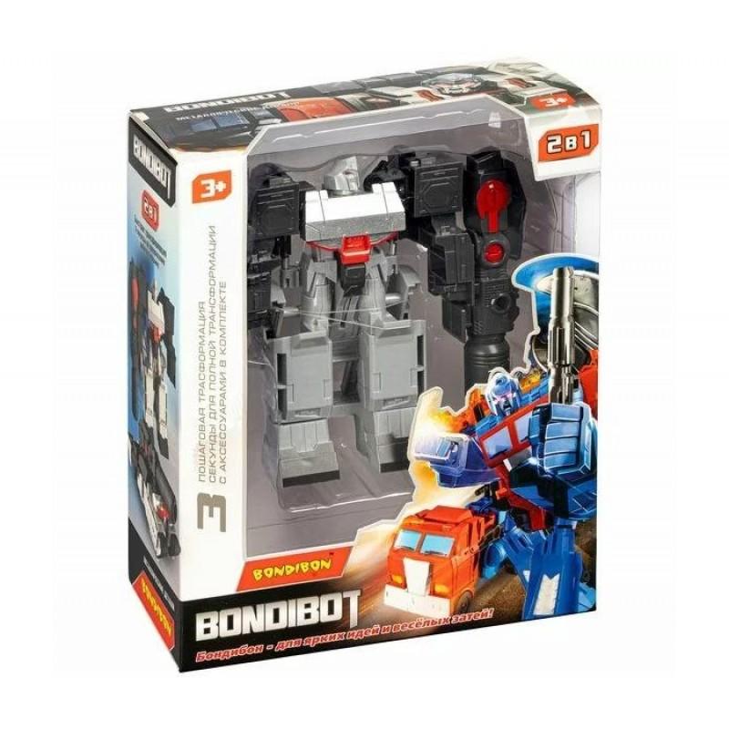 Bondibon Трансформер Bondibot 2 в 1 робот-танк