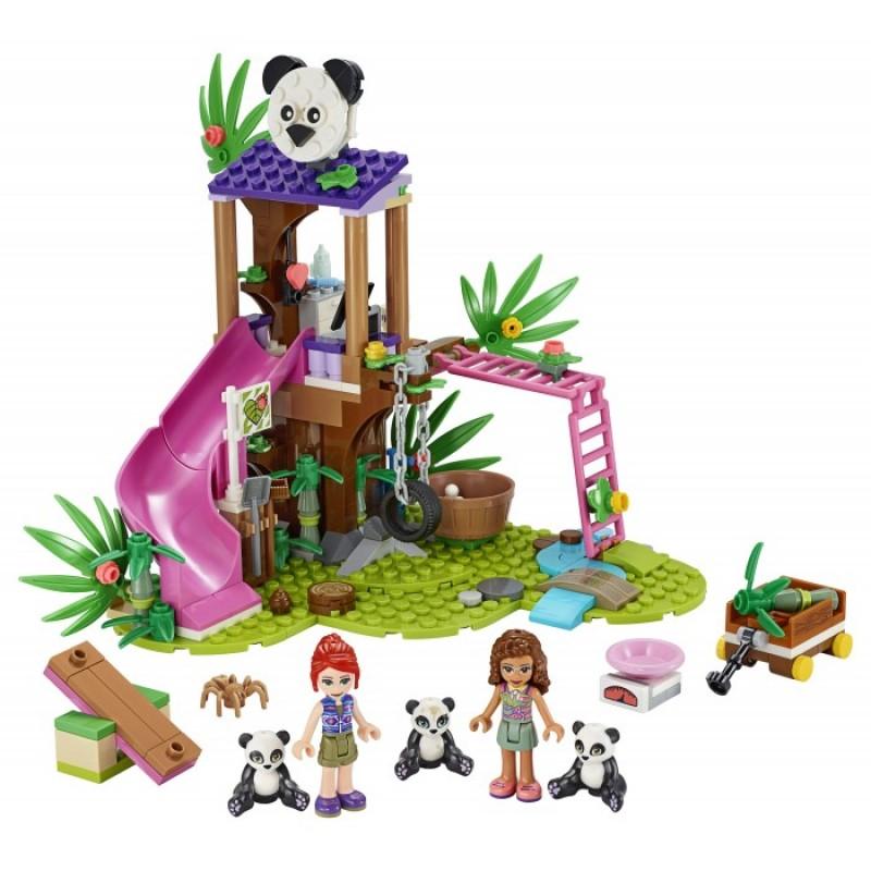 Конструктор Lego Джунгли: домик для панд на дереве
