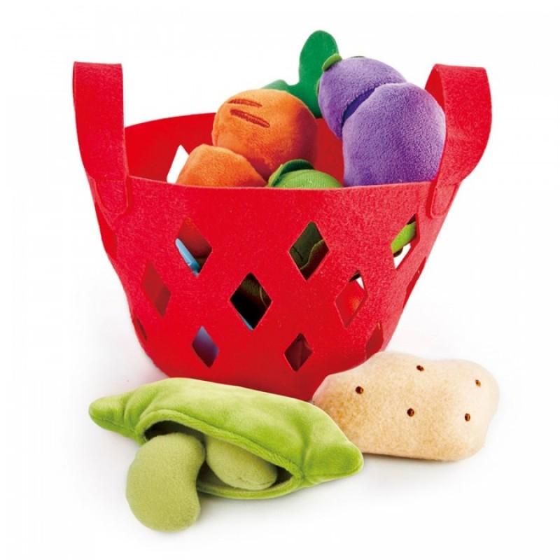 Hape Игровой набор Овощная корзина