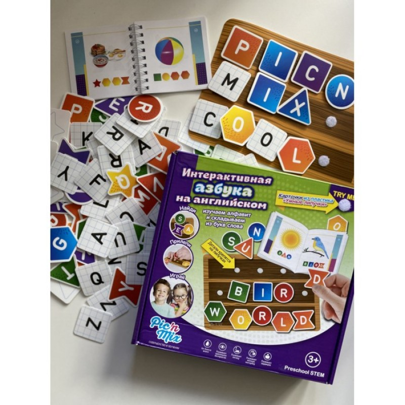 Pic`n Mix Игра настольная развивающая Интерактивная азбука на английском