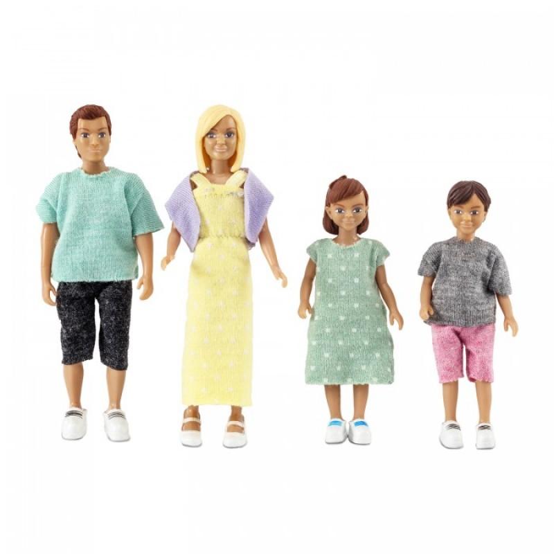 Lundby Набор кукол для домика классическая семья