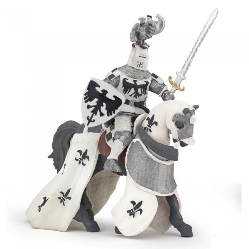 Papo Белый хохлатый рыцарь