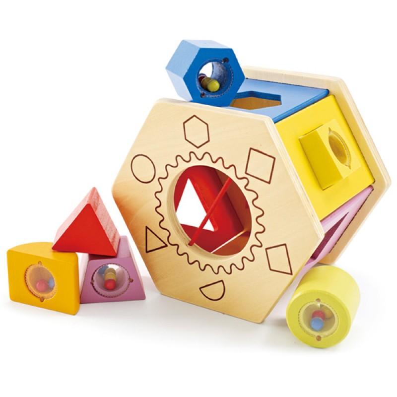 Деревянная игрушка Hape Сортер Е0407