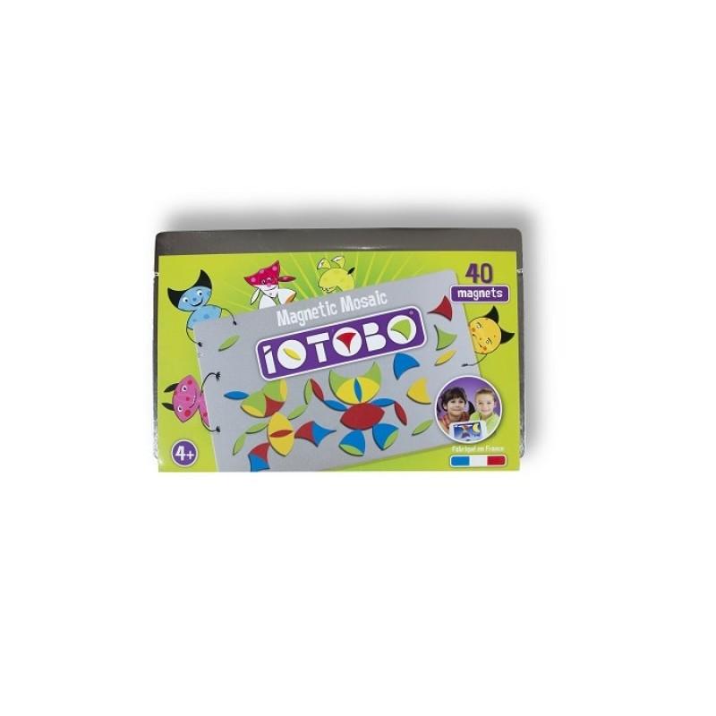 Iotobo Магнитная мозаика-головоломка (40 деталей)