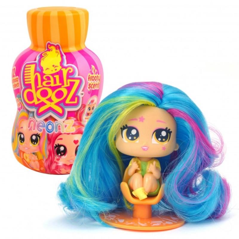 Hairdooz Игровой набор Куколка Неон в парикмахерской с аксессуарами