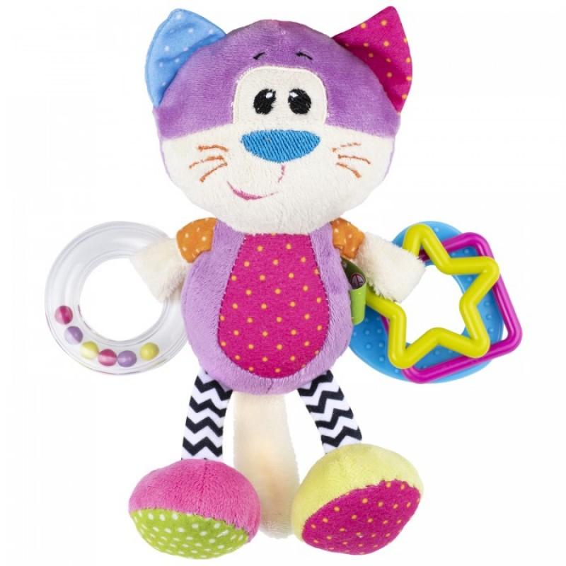 Подвесная игрушка Fancy Baby развивающая Котёнок