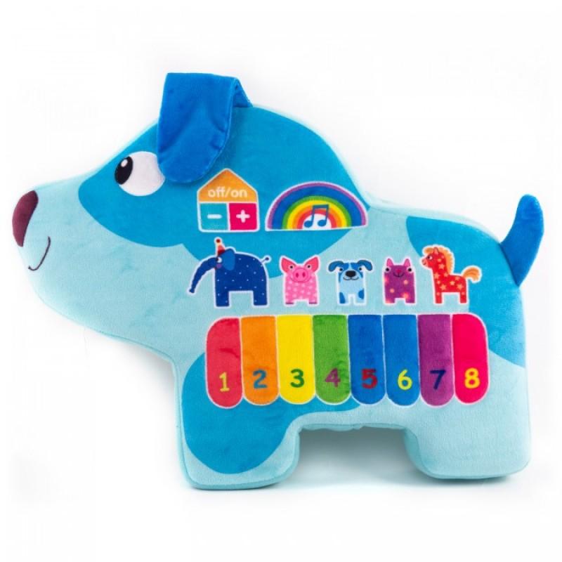 Развивающая игрушка Деревяшки музыкальная Собачка Гав-Гав