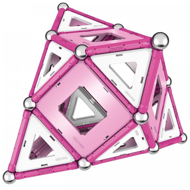 Конструктор Geomag магнитный Pink 104 детали