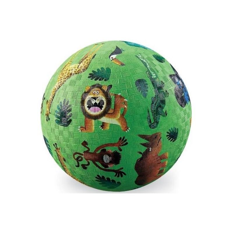 Crocodile Creek Мяч Дикие животные 13 см 2132-0