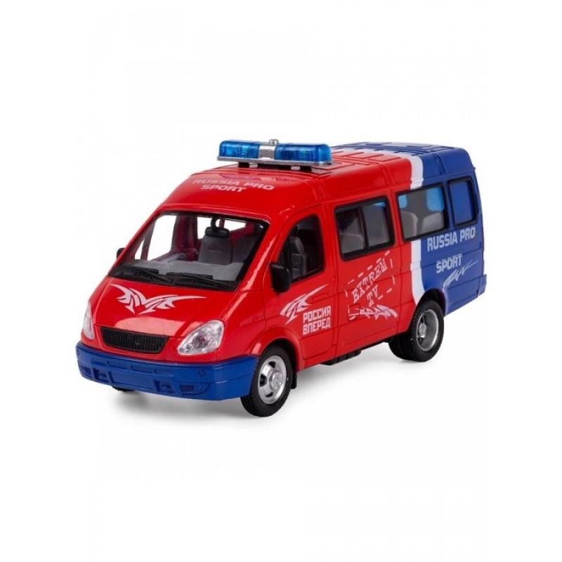Play Smart Serinity Toys Машинка со звуком и светом Микроавтобус Спорт