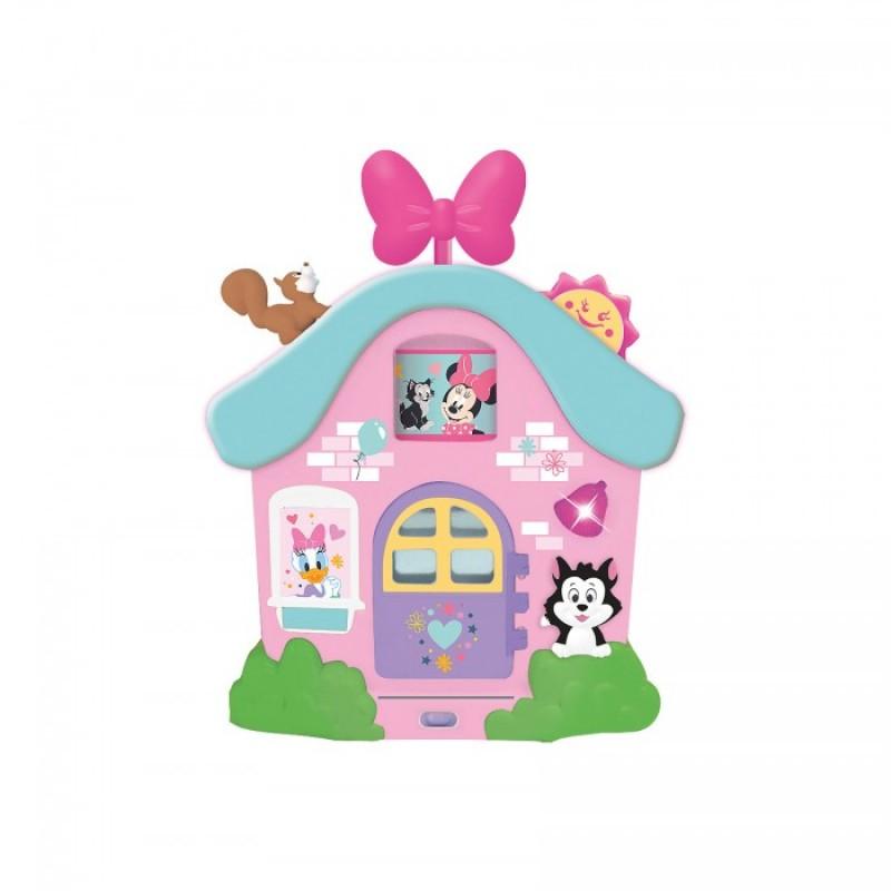 Развивающая игрушка Kiddieland Интерактивный домик Минни Маус и друзья