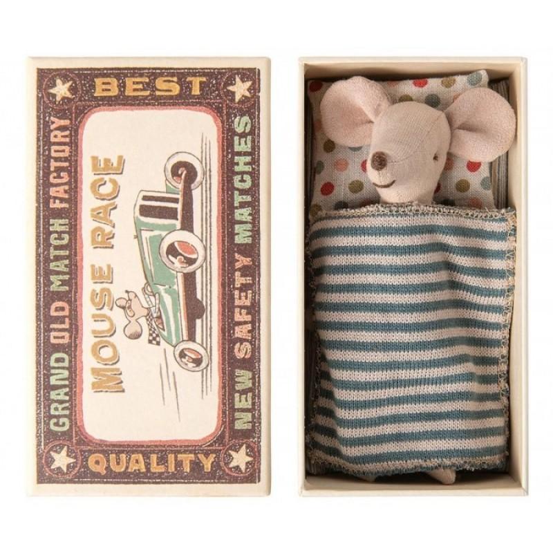 Мягкая игрушка Maileg Мышонок старший брат в коробке 16-0733-01