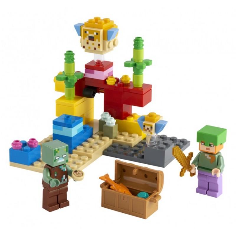 Конструктор Lego Minecraft Коралловый риф