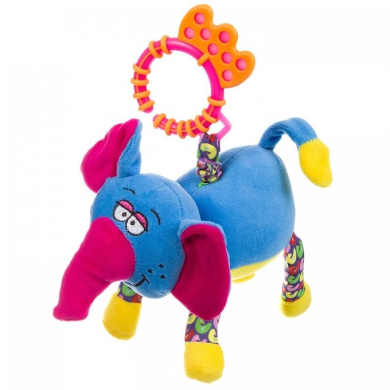 Подвесная игрушка Bondibon растяжка Слон