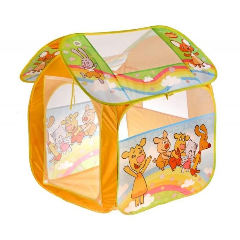 Играем вместе Палатка детская игровая Оранжевая корова GFA-OC-R