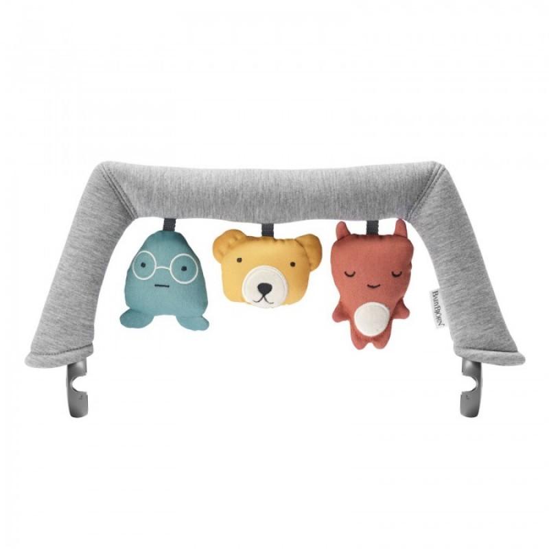 BabyBjorn Игрушка для кресла-шезлонга Мягкие друзья