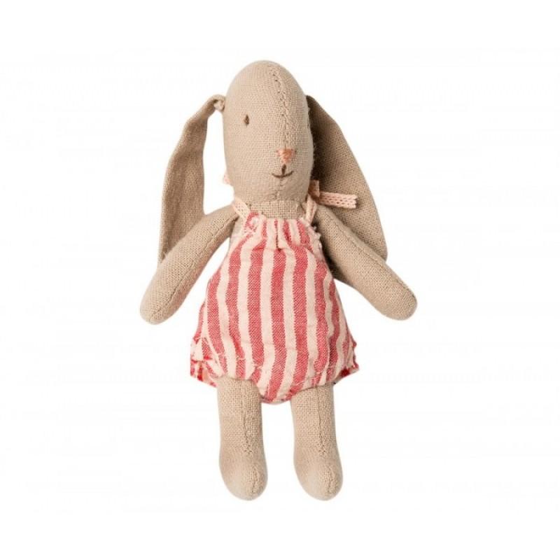 Мягкая игрушка Maileg Заяц Микро девочка
