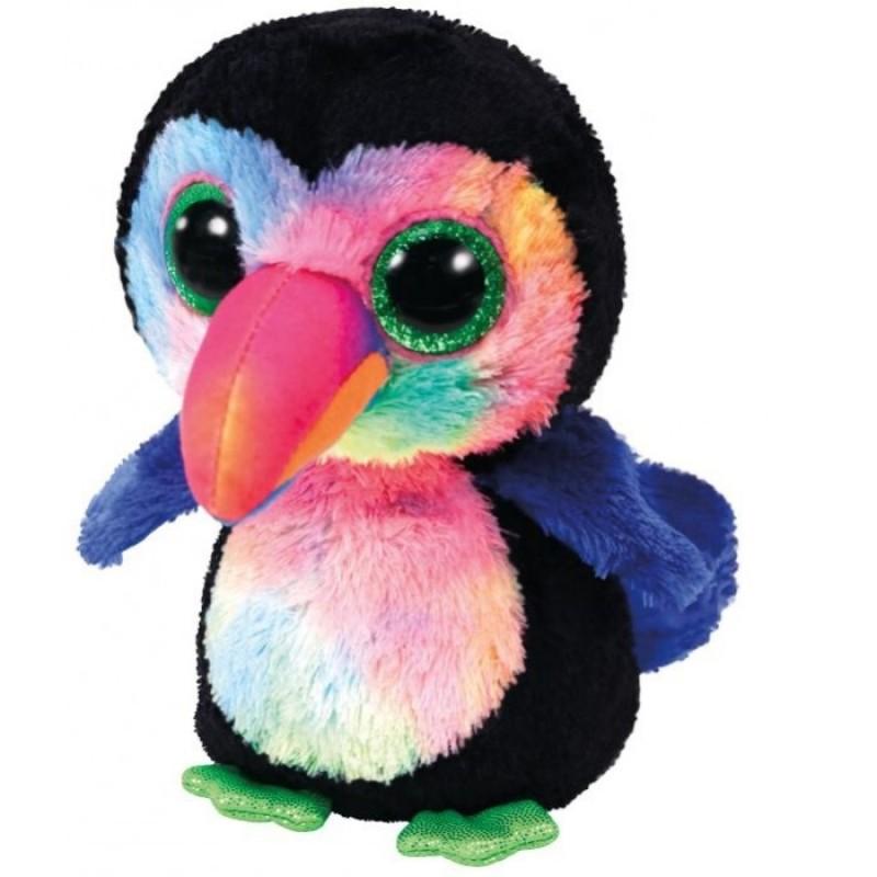 Мягкая игрушка TY Бикс птица тукан Beanie Boo's