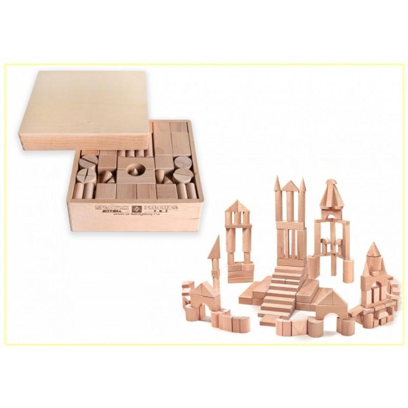 Деревянная игрушка Престиж-Игрушка Набор Конструктор 150 деталей