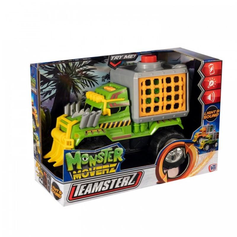 HTI Машинка Teamstrz внедорожник с динозавром Monster Moverz