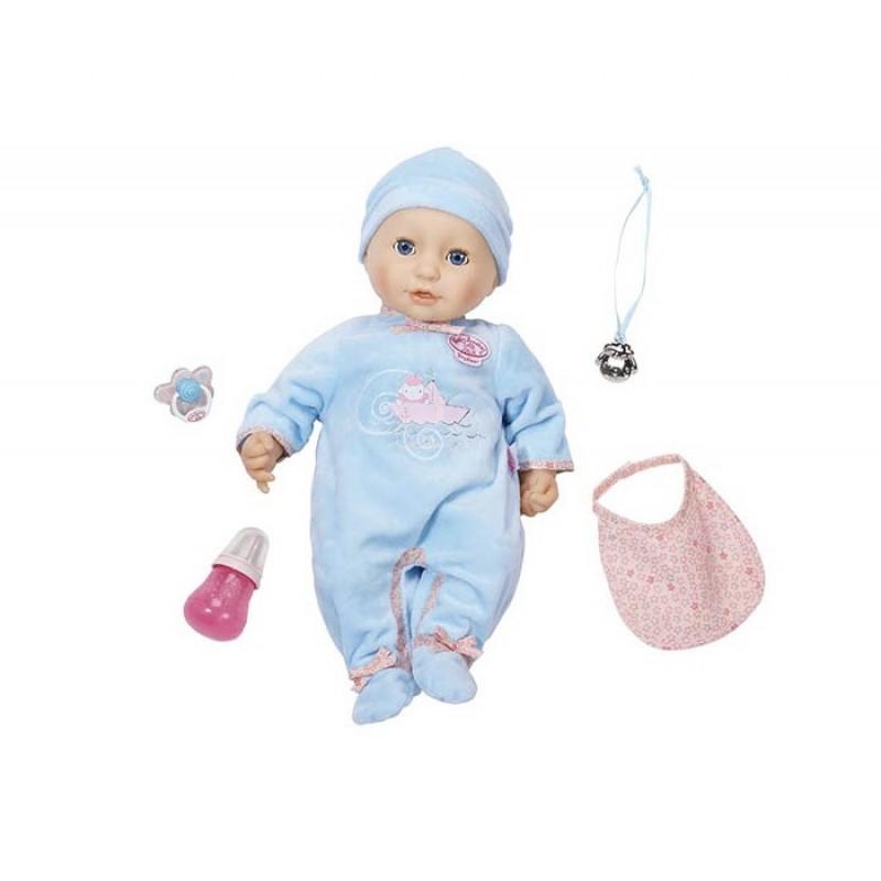 Zapf Creation Baby Annabell Кукла-мальчик многофункциональная 43см 794-654