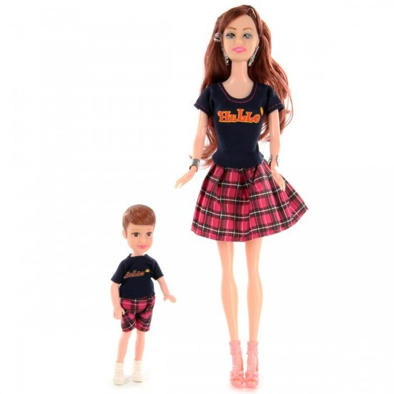 Veld CO Набор кукол Мама с ребенком