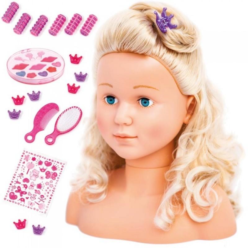 Bayer Кукла Модель для причесок с косметикой 27 см