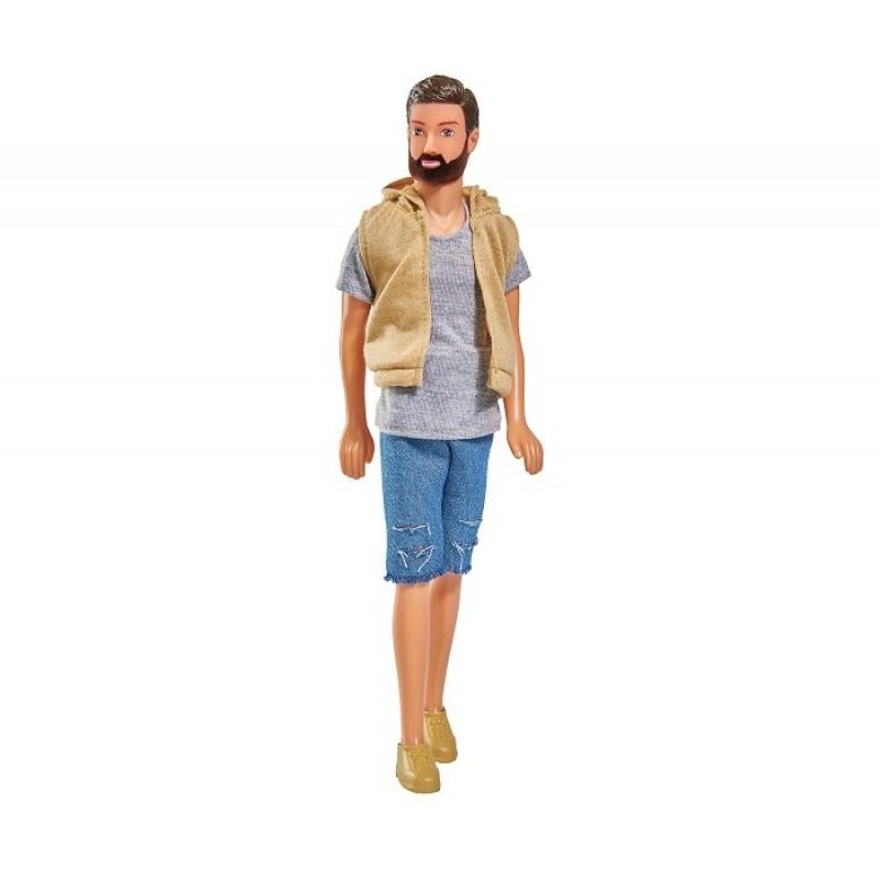 Simba Кукла Кевин с бородой в шортах 30 см