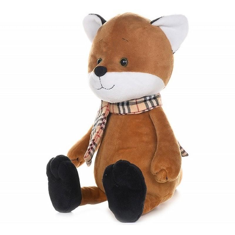 Мягкая игрушка Maxitoys Luxury Romantic Plush Club Лисенок в шарфике 25 см