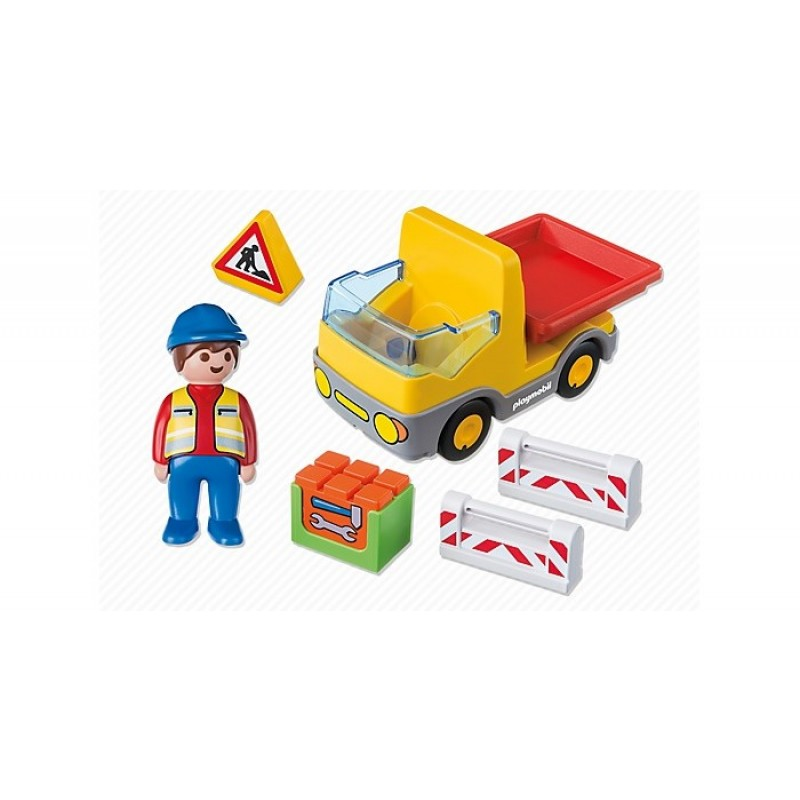 Конструктор Playmobil 1.2.3. Самосвал