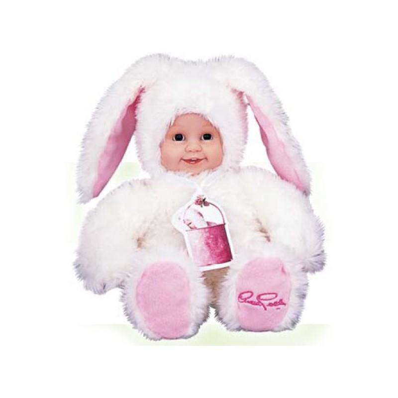 Мягкая игрушка Anne Geddes Детки-зайчики 43 см