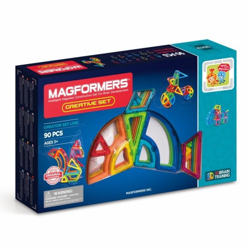 Конструктор Magformers Магнитный Creative 90 63118