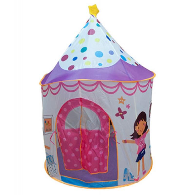 BabyOne Домик принцессы CBH-16 Ching-Ching Дом + 100 шаров