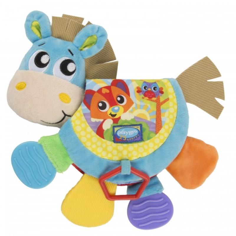 Развивающая игрушка Playgro мягконабиная Ослик