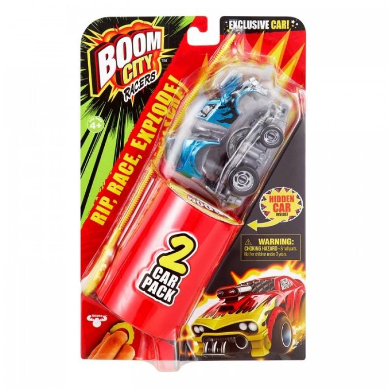 Moose Две машинки Boom City Racers Fire It Up
