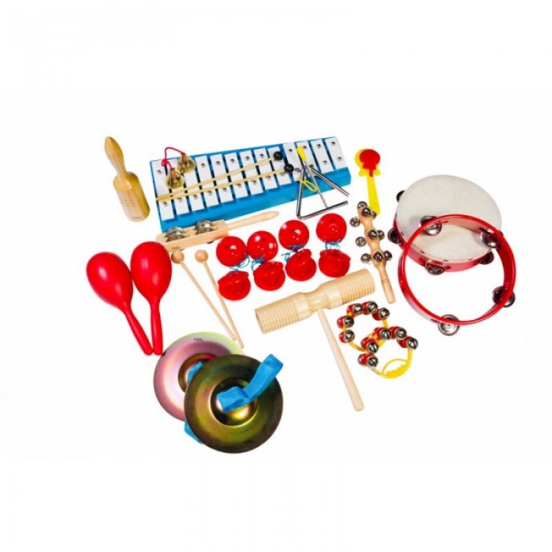 Музыкальный инструмент Flight Набор перкуссии (17 предметов)
