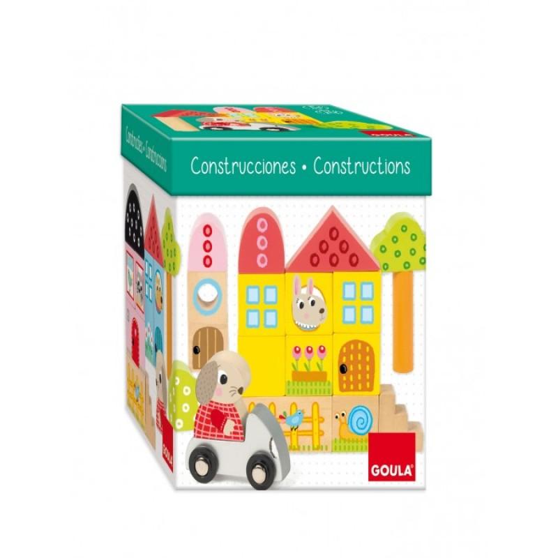 Деревянная игрушка Goula Игровой набор Лес