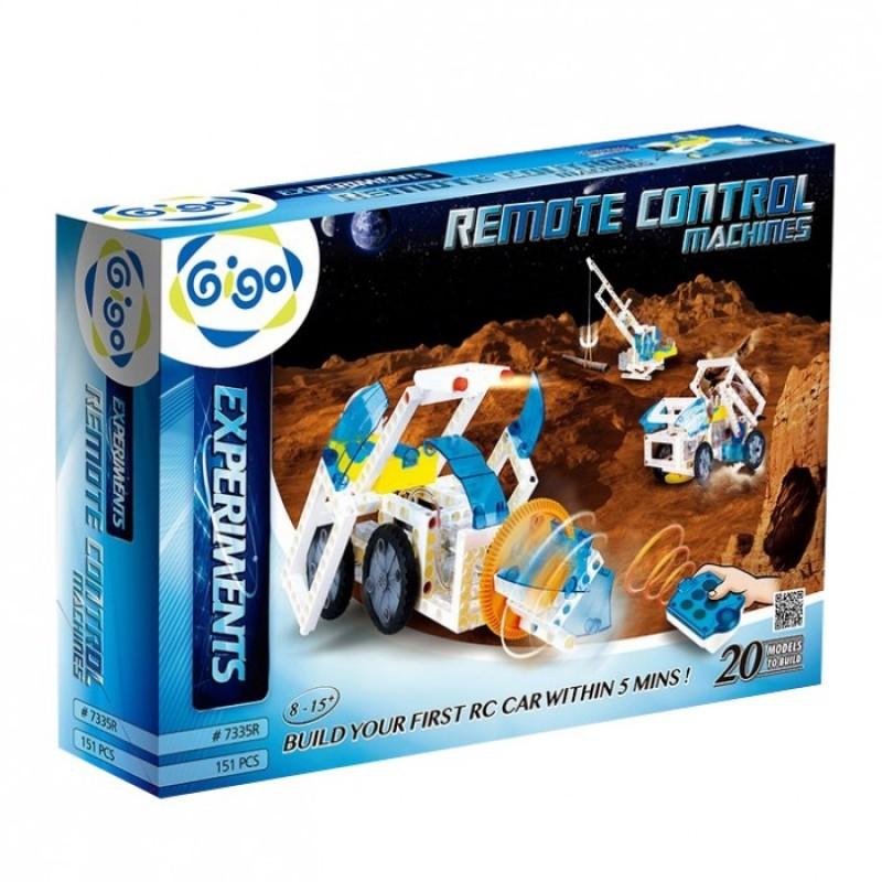 Конструктор Gigo Управляемые роботы 2 (151 деталь)