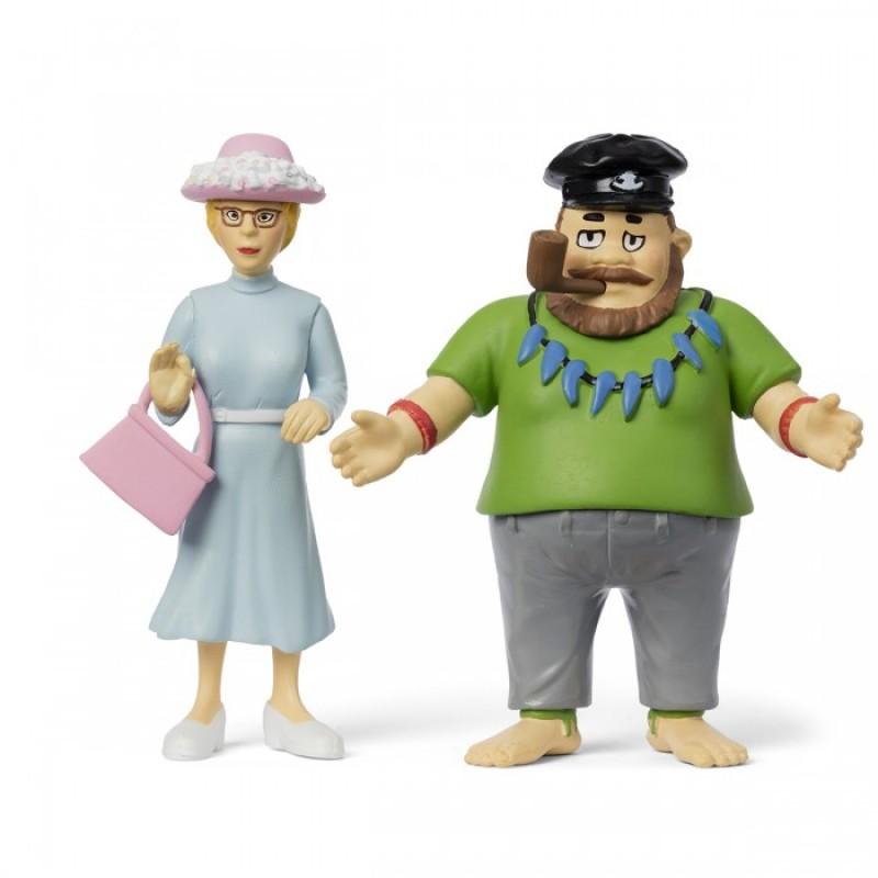 Micki Набор кукол для домика Пеппи Капитан и мисс