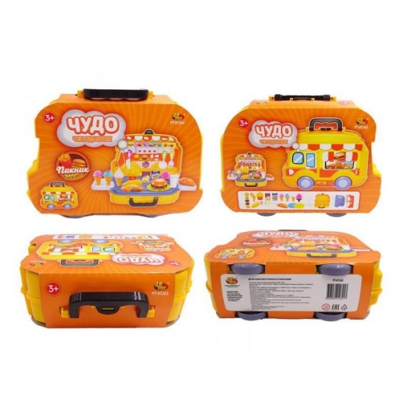 ABtoys Чудо-чемоданчик Пикник (26 предметов)