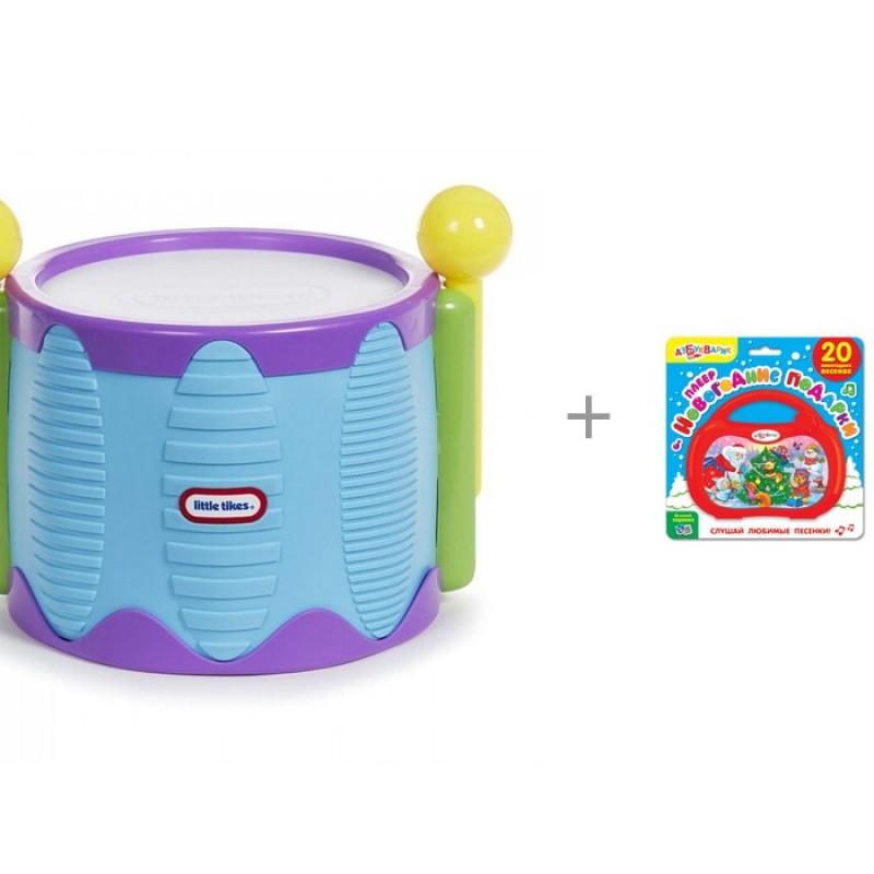 Музыкальный инструмент Little Tikes Барабан с палочками и плеер Новогодние подарки