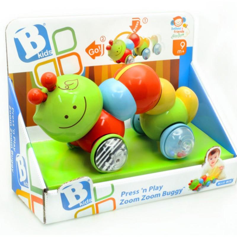Развивающая игрушка B kids Инерционная каталка Гусеница