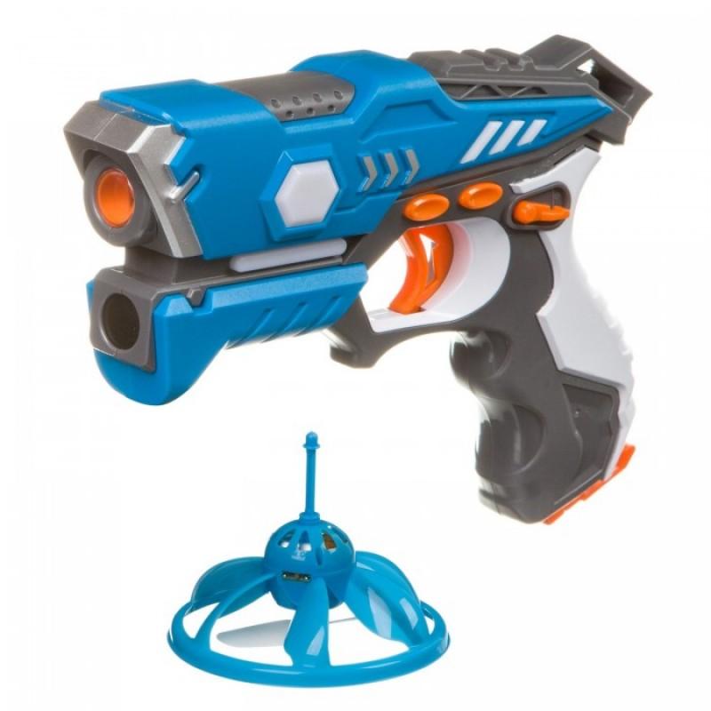 Bondibon Игровой набор на батарейках Лазер-Жук с ик-бластером и Нло-мишенью