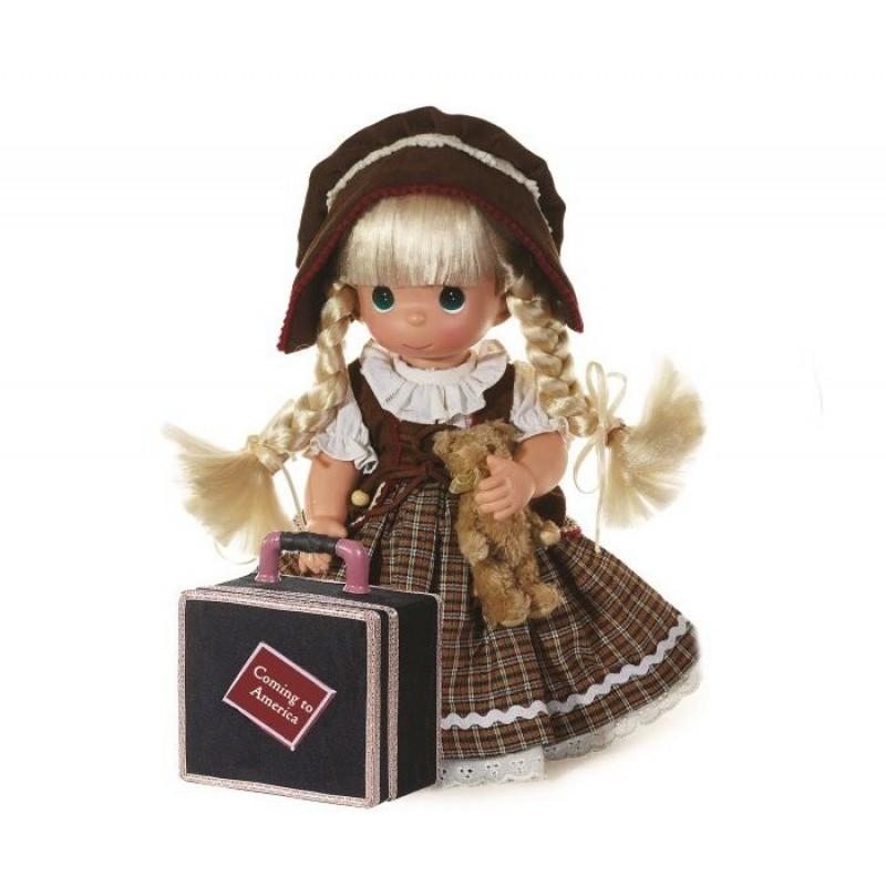 Precious Кукла Путешественница блондинка 30 см