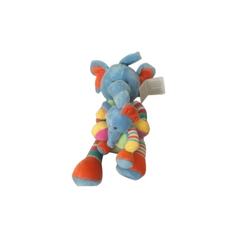 Мягкая игрушка Bampi Слонята плюш 30 см
